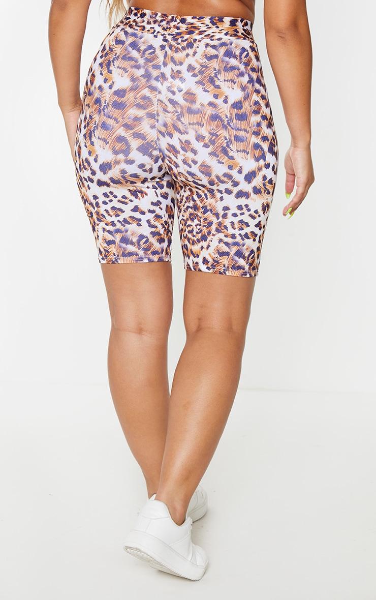Leopard Wash Booty Short 3