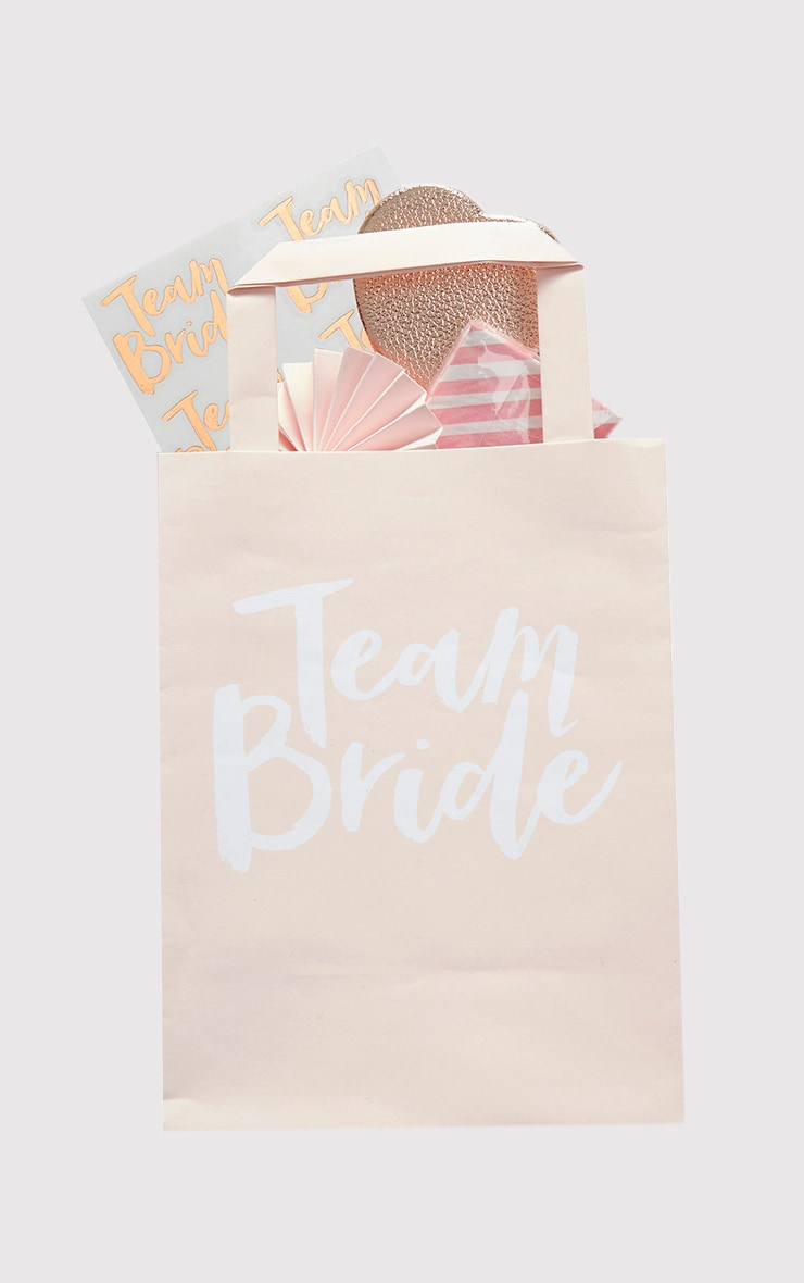 Ginger Ray Team Bride Pink Party Bags 2