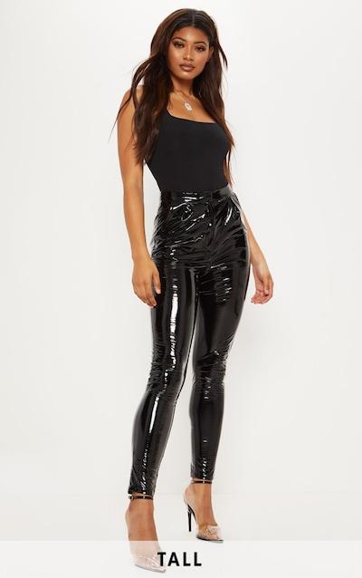 Tall - Pantalon en vinyle noir f63905accf39