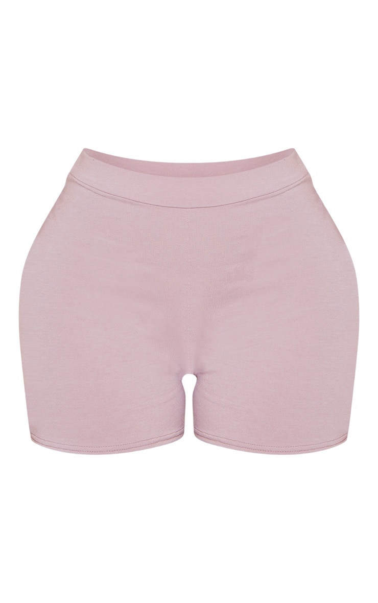 Shape Violet High Waisted Jersey Shorts 3