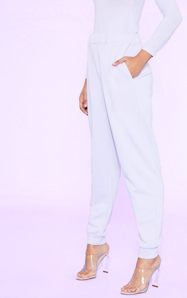 RECYCLED Pale Violet Joggers 5
