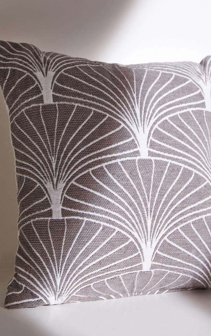 Grey Palermo Cushion Cover 5