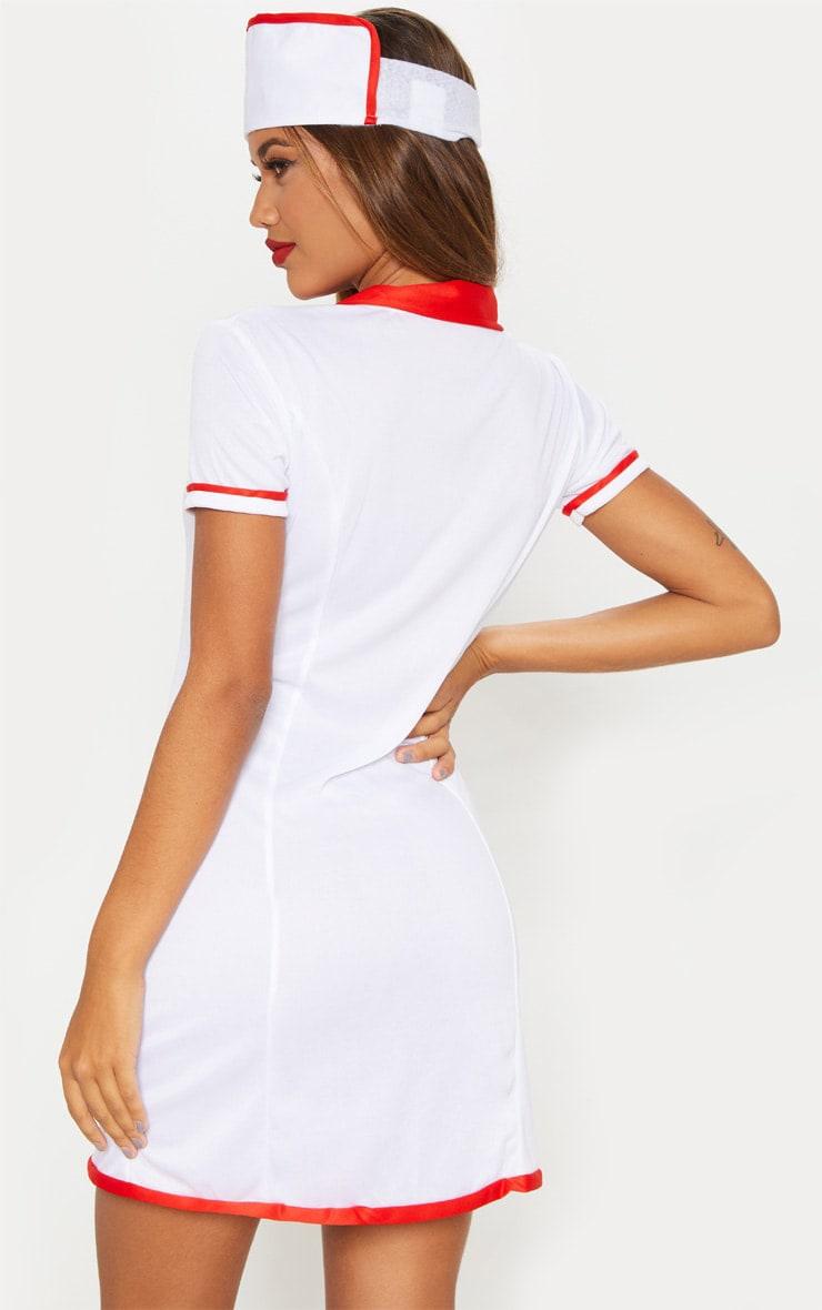 Sexy Nurse Halloween Fancy Dress Outfit 2