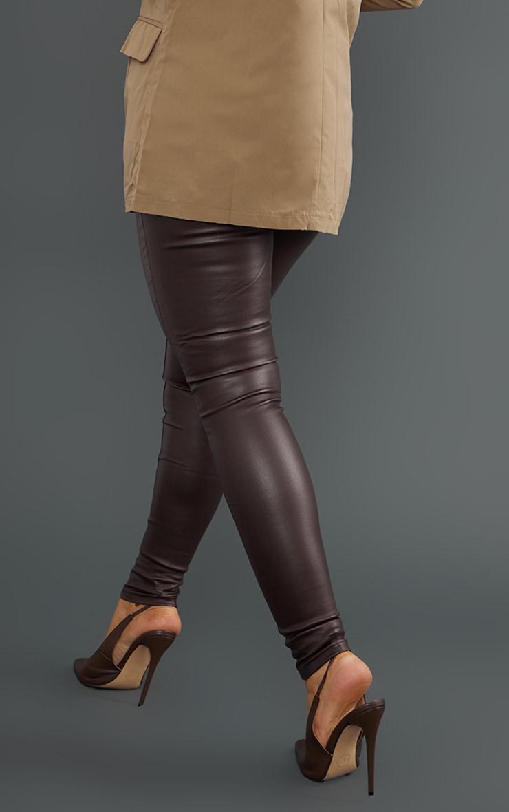 Chocolate Coated Skinny Jeans 3
