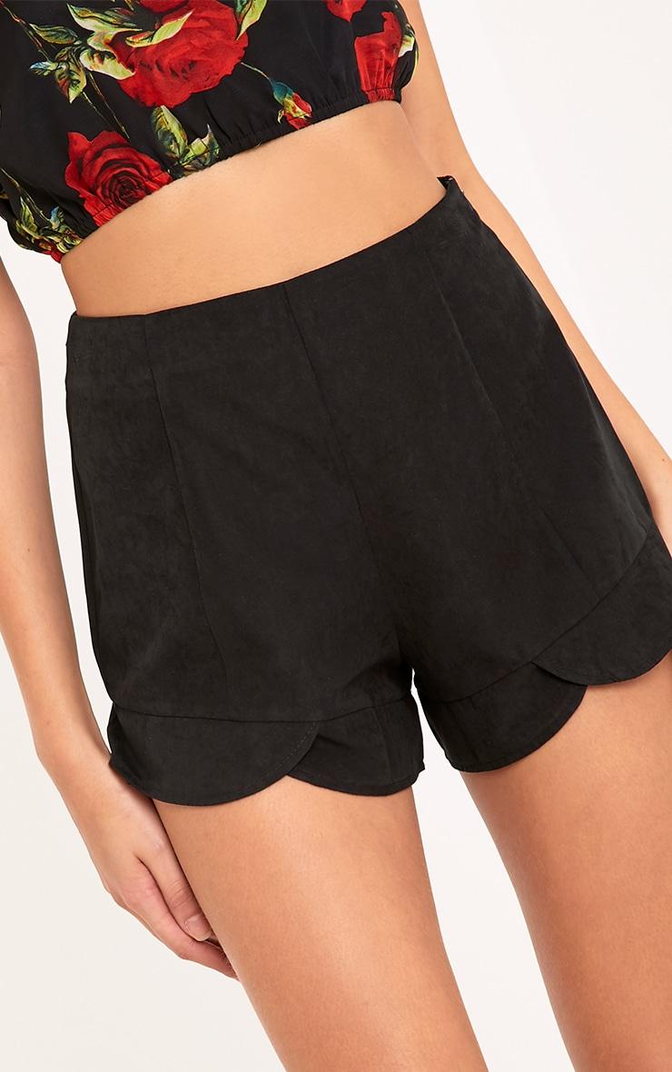 Karla Black Scallop Wrap Shorts  5