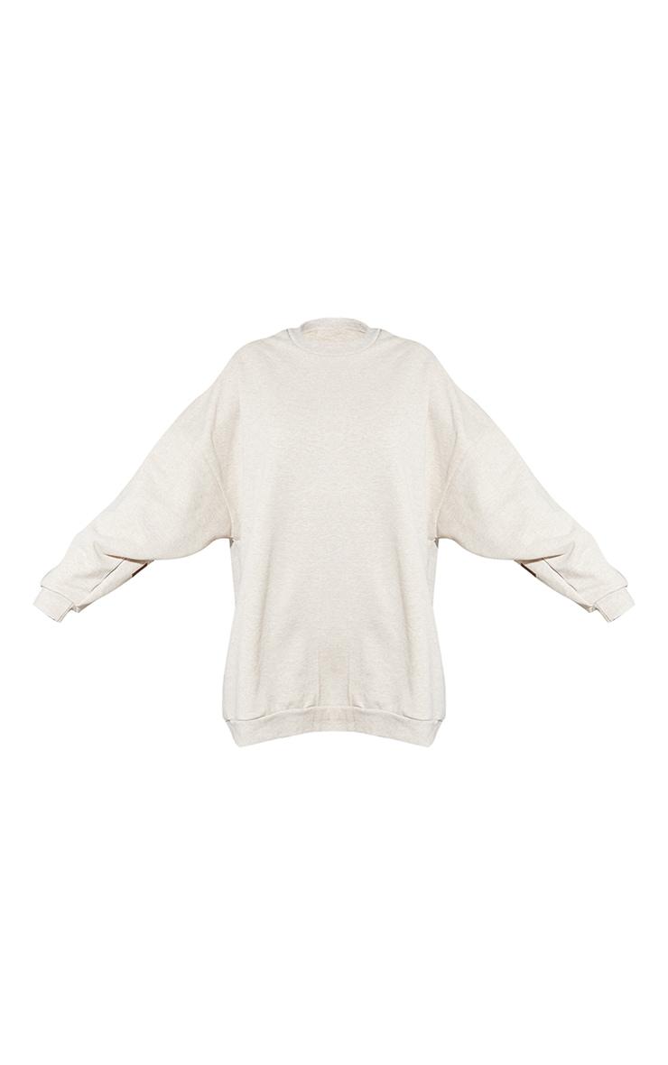Tall Oatmeal Atlanta Georgia  Graphic Sweatshirt Dress 5