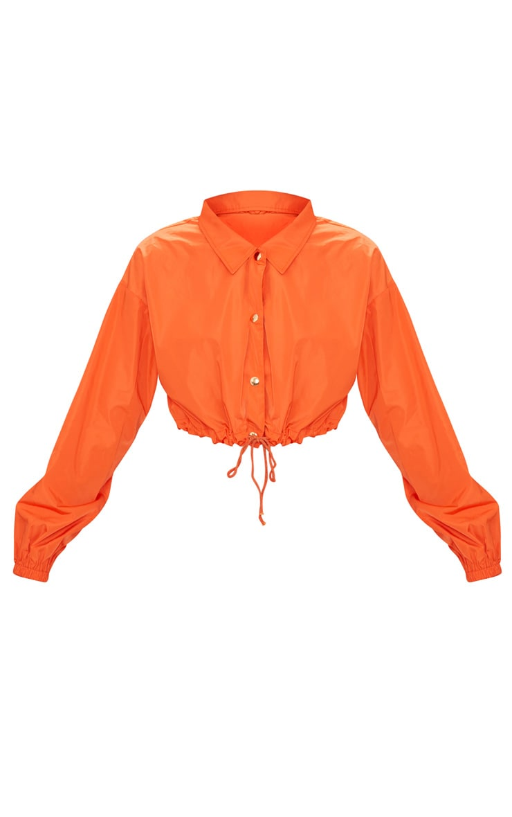 Orange Shell Suit Jacket 3