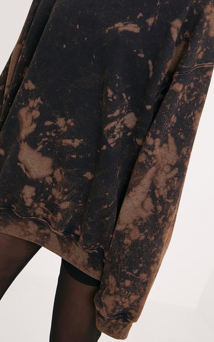 Wynta Black Bleached Sweatshirt 5