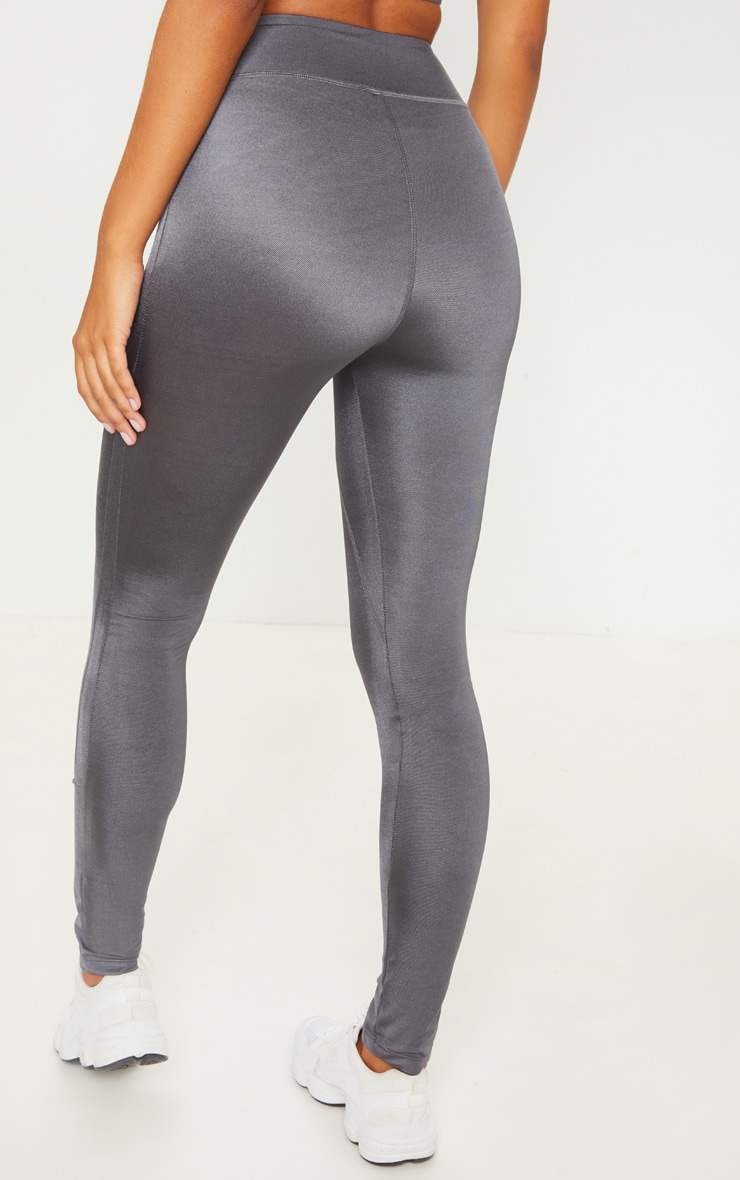 Charcoal High Waisted Sports Legging 4