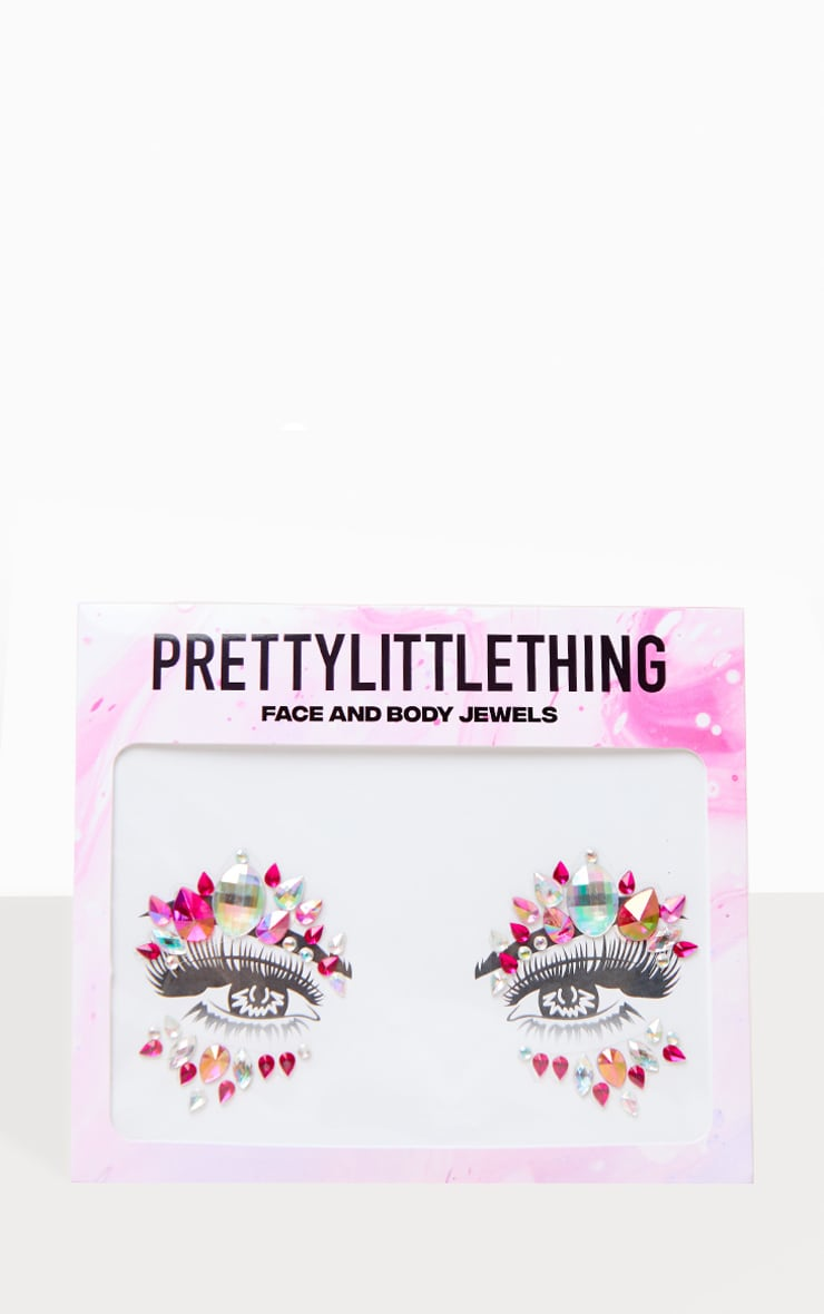 PRETTYLITTLETHING Sweet Dreamer Face Jewels 1
