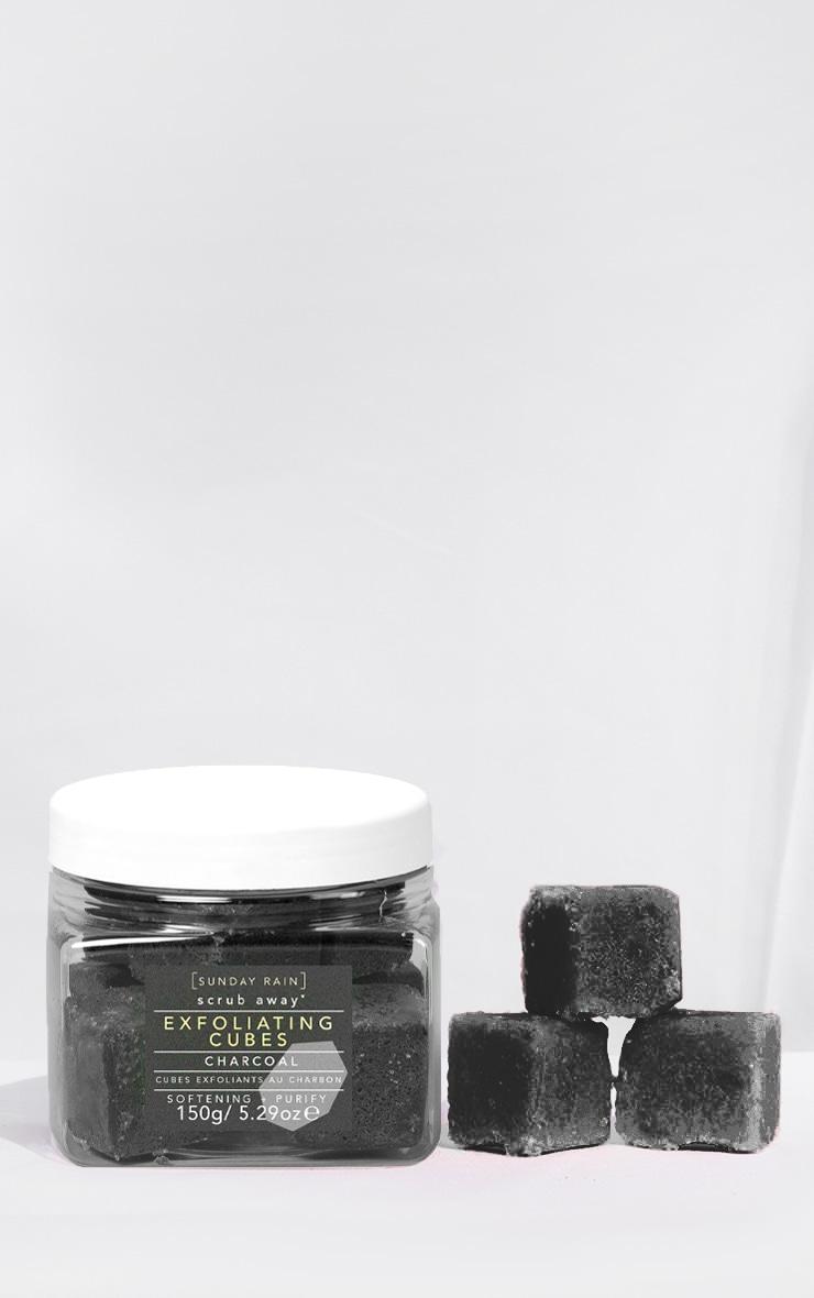 Sunday Rain Exfoliating Cubes Charcoal 2
