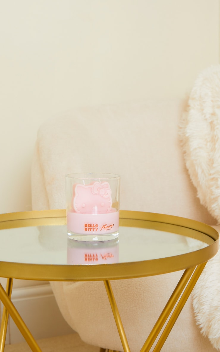 Hello Kitty X FC Watermelon Pink Candle 3