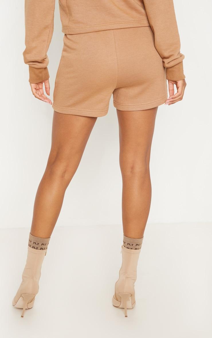 Taupe Sweat Shorts 4