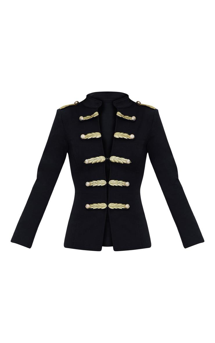 Black Military Blazer  3