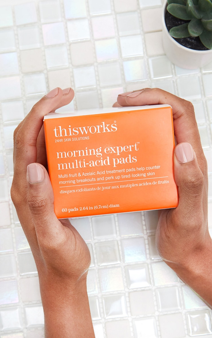 This Works Morning Expert Multi-Acid Daily Exfoliating Pads 60Pcs 1