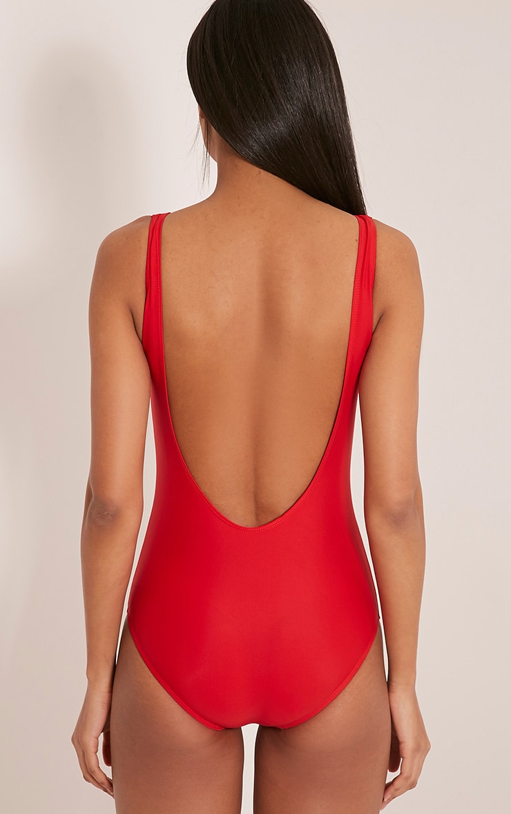 Bae Watch Red Swimsuit 3