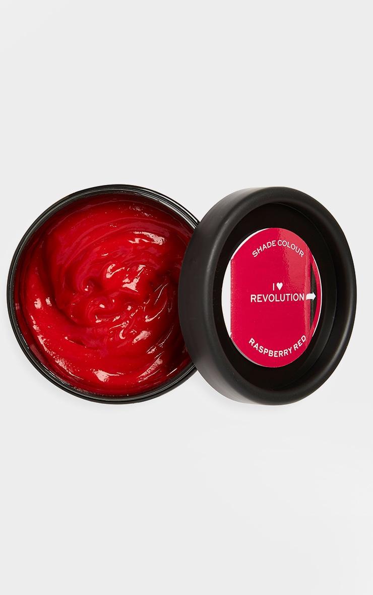 I Heart Revolution Rainbow Tones Hair Colour Raspberry 2