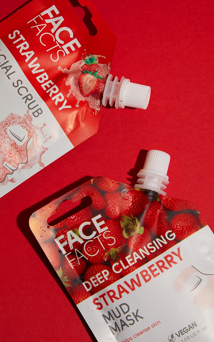 Face Facts Facial Scrub Strawberry 3