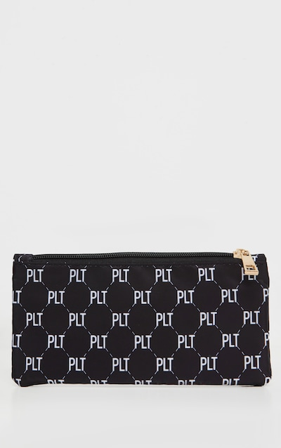 PRETTYLITTLETHING Monogram Monochrome Pencil Case