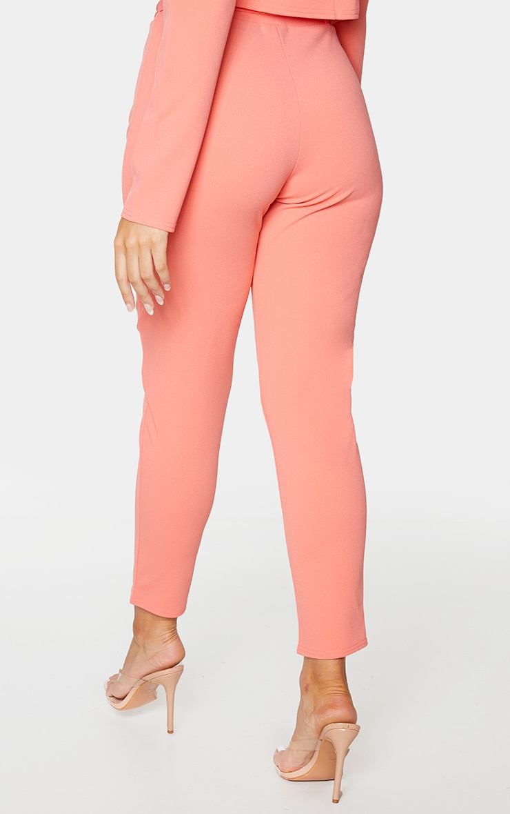 Coral High Waisted Belted Trouser 3