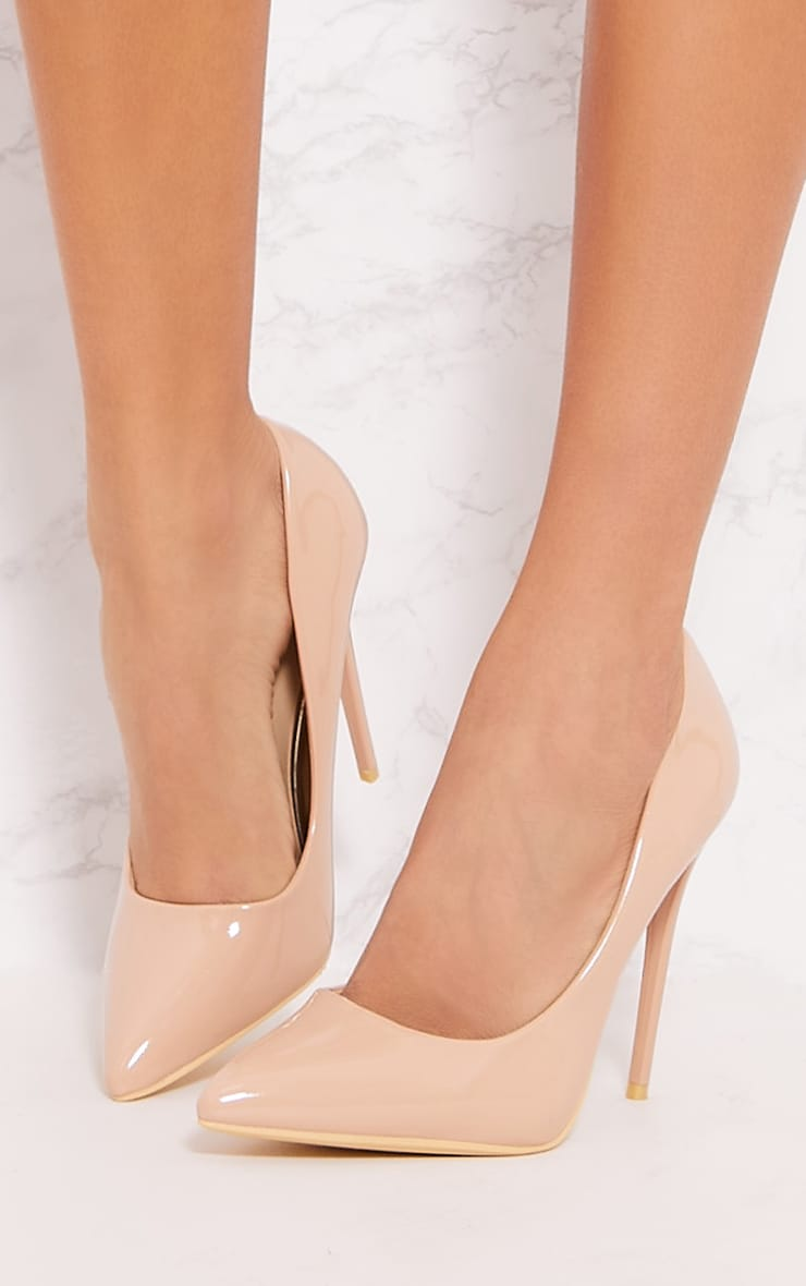 PRETTYLITTLETHING Nude Patent High Court Jddoa