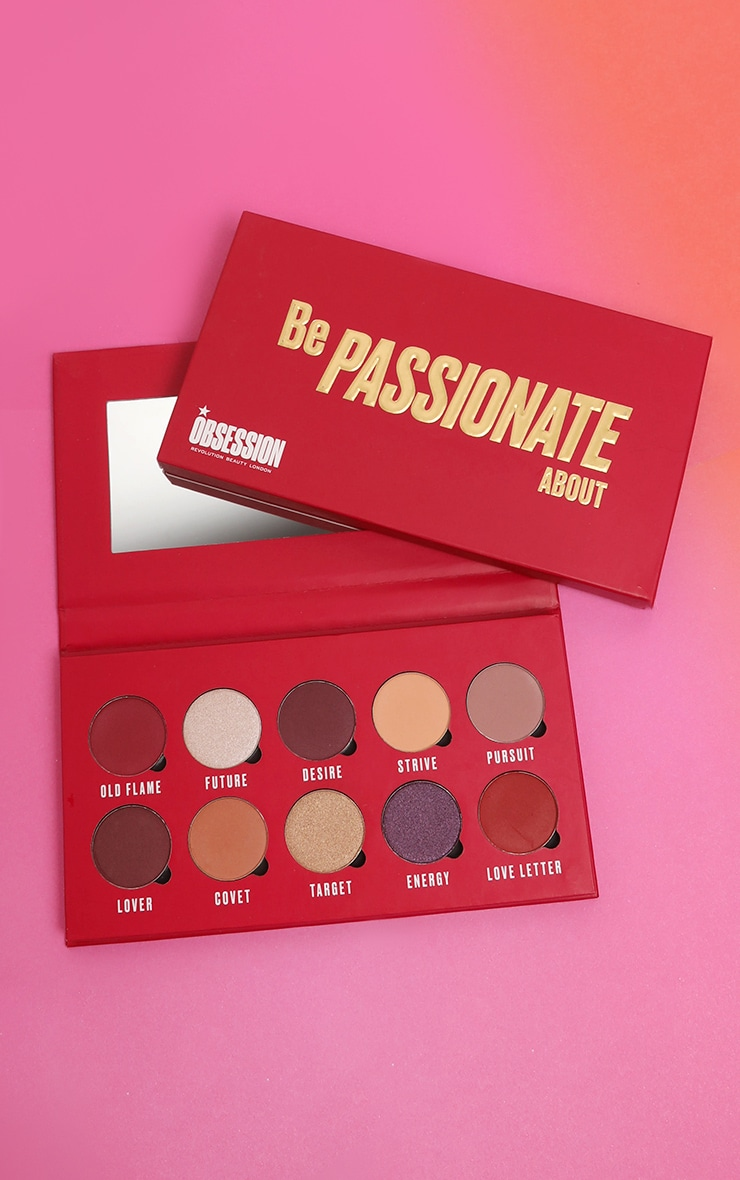 Makeup Obsession Be Passionate About Eyeshadow Palette 1
