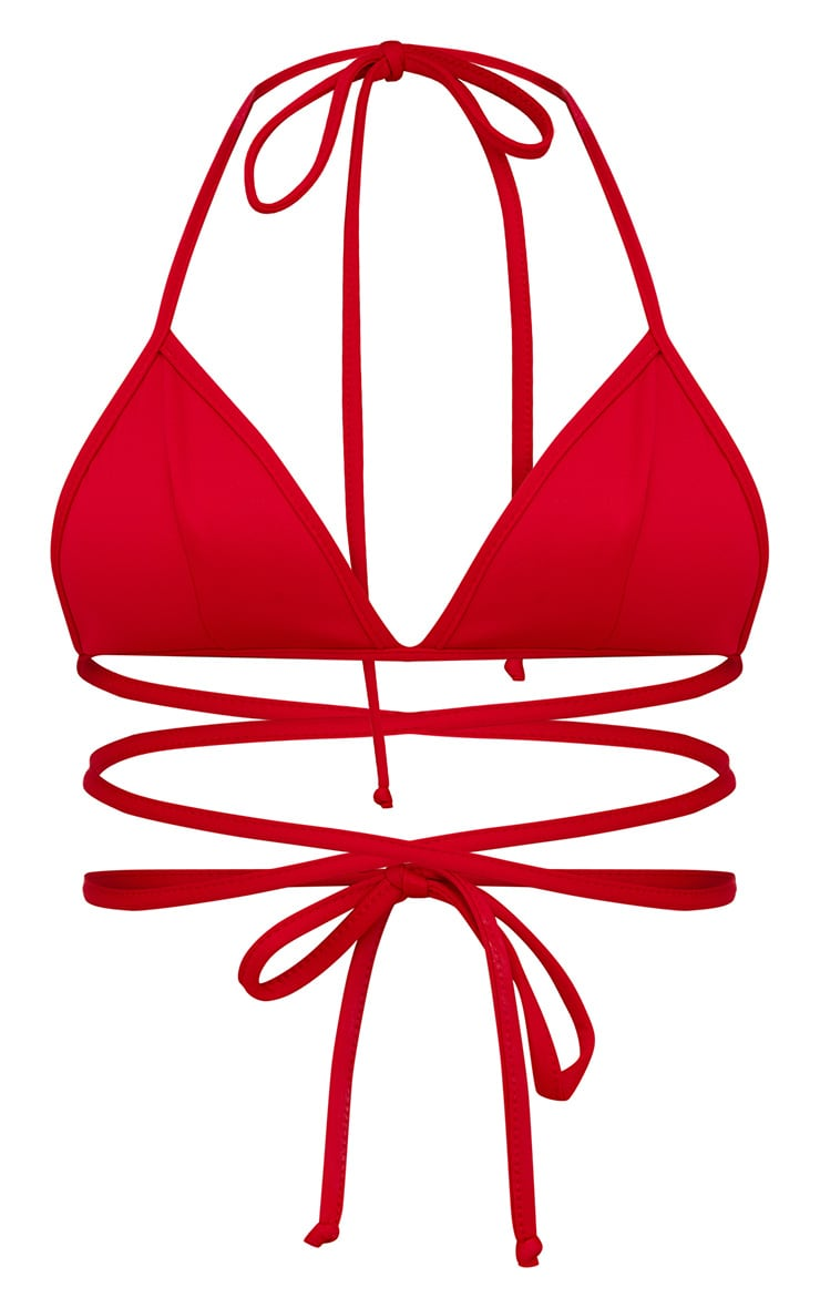 Red Harness Bralet 3