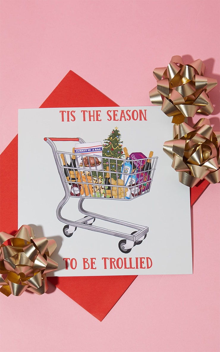 Central 23 Season To Get Trollied Christmas Card 1