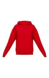 5015b8ebc3b4f Red Ultimate Oversized Hoodie image 3