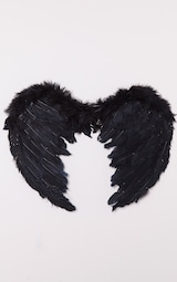 ae9d3d9a9e1 Black Feather Angel Wings