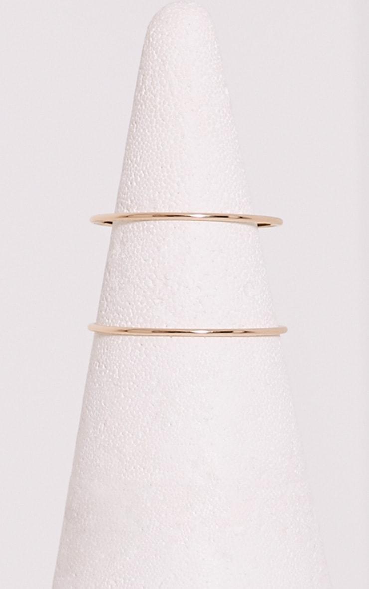 Staciah Gold Multi Bracelets 3