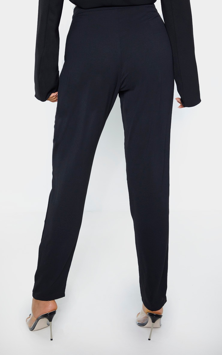 Tall Black Tailored Pants 4