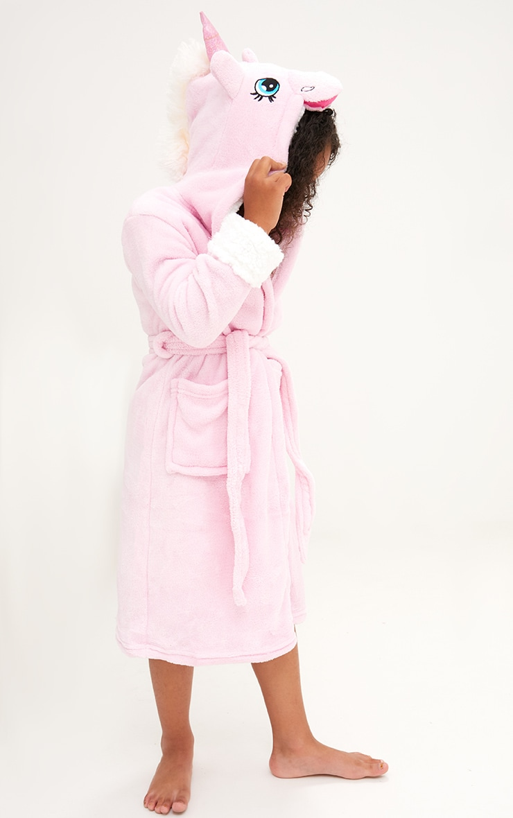 Unicorn Pink Dressing Gown 2
