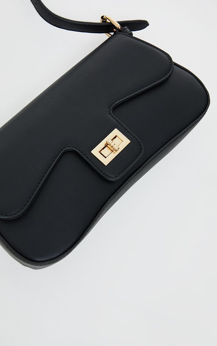 Black Envelope Shoulder Bag 3