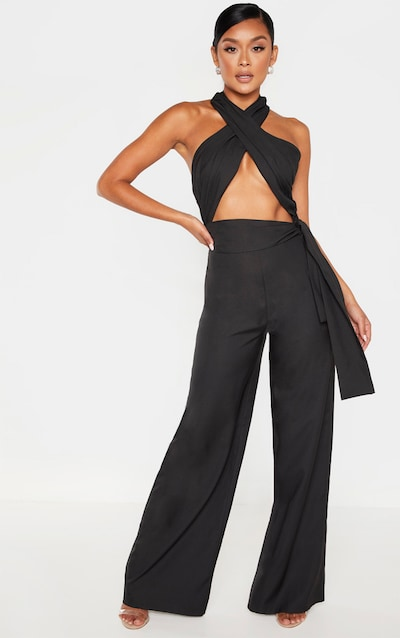 646cb2347a Wide Leg Jumpsuits | Flared Jumpsuits for Women | PrettyLittleThing USA