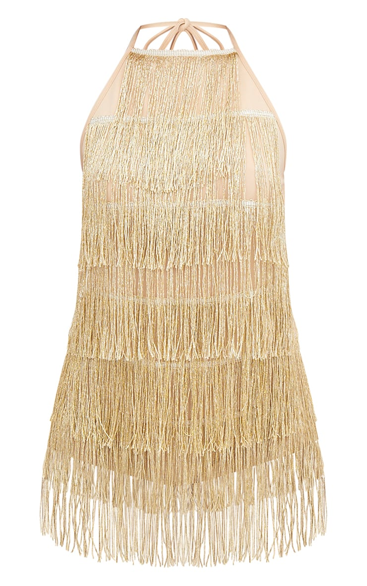 Gold Tassel Playsuit 3