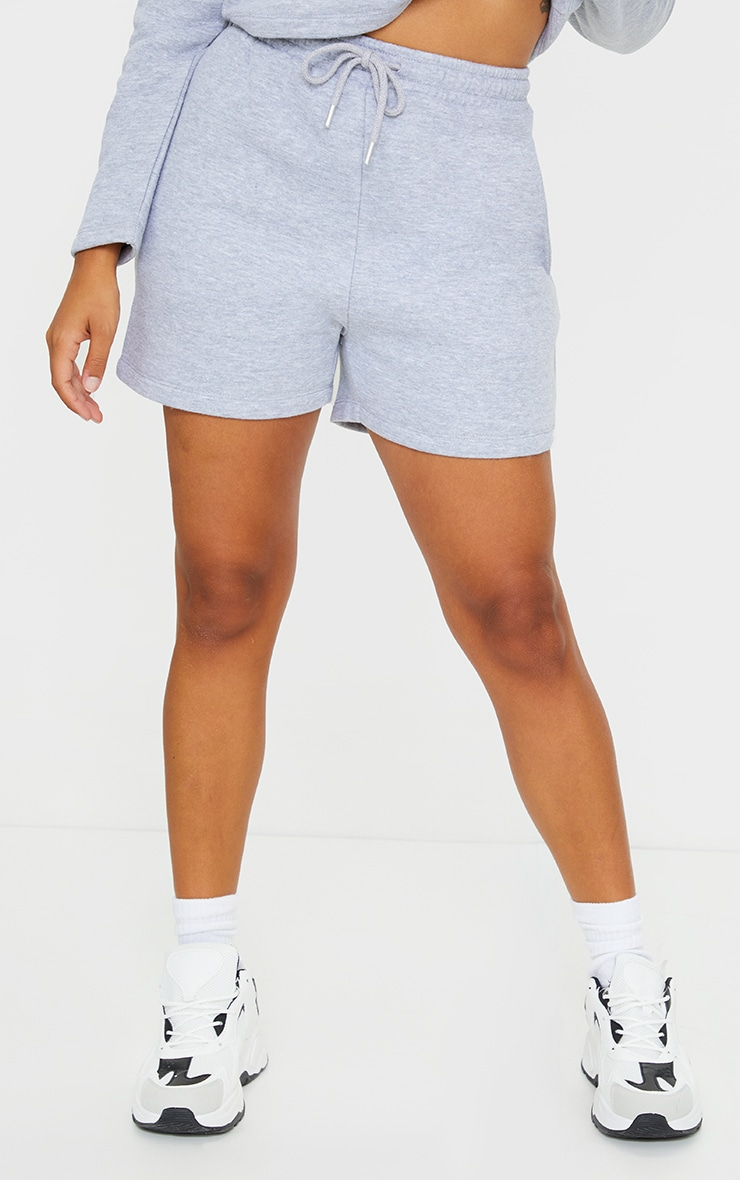 Petite Grey Sweat Short 2