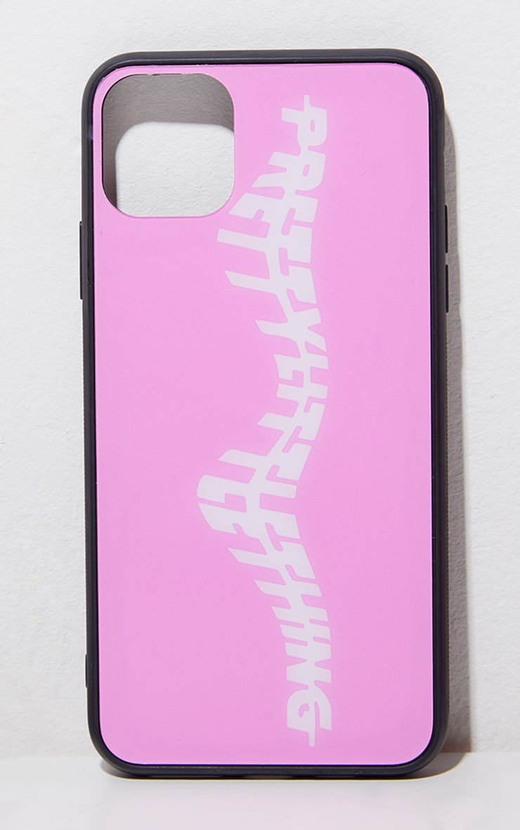 PRETTYLITTLETHING Pink iPhone 11 Pro Max Phone Case 3
