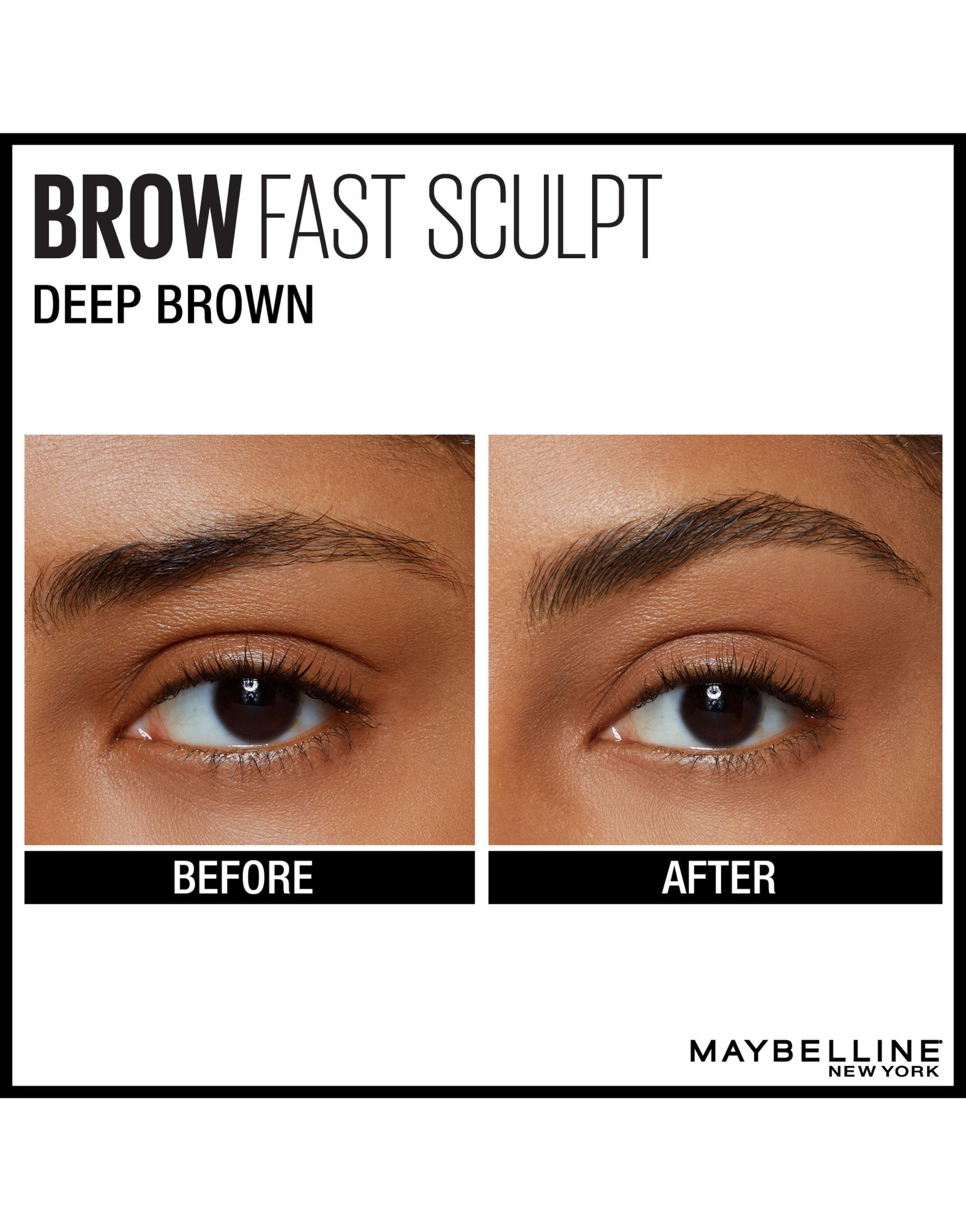 Maybelline Brow Fast Sculpt Eyebrow Gel 06 Deep Brown 2