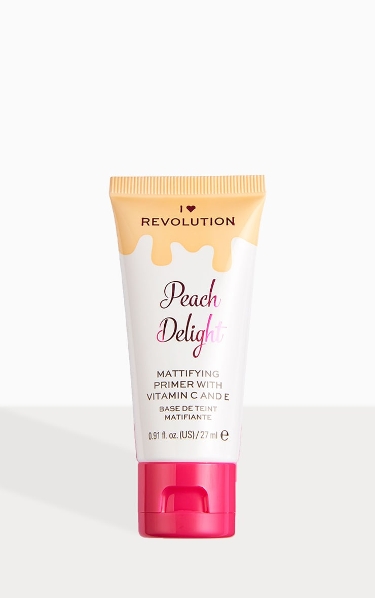 I Heart Revolution Peach Delight Primer 1