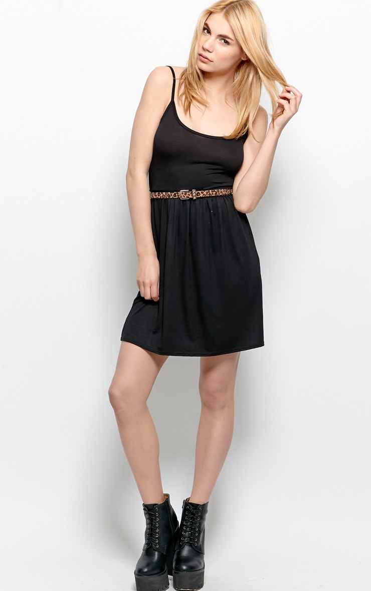Ruben Black Skater Vest Dress  3
