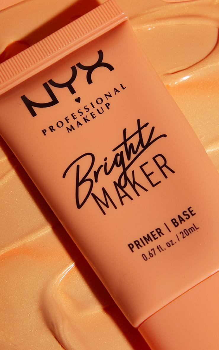 NYX PMU Bright Maker Super Brightening Papaya Face Primer 2
