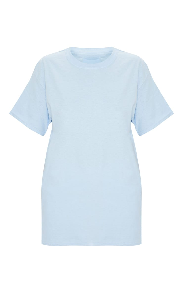 Light Blue Boyfriend T Shirt 3