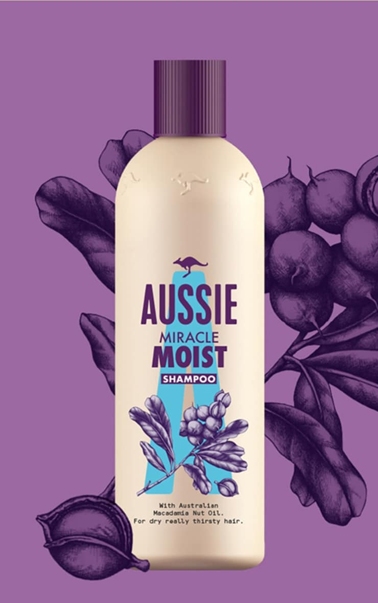 Aussie Miracle Moist Shampoo 300ml 1