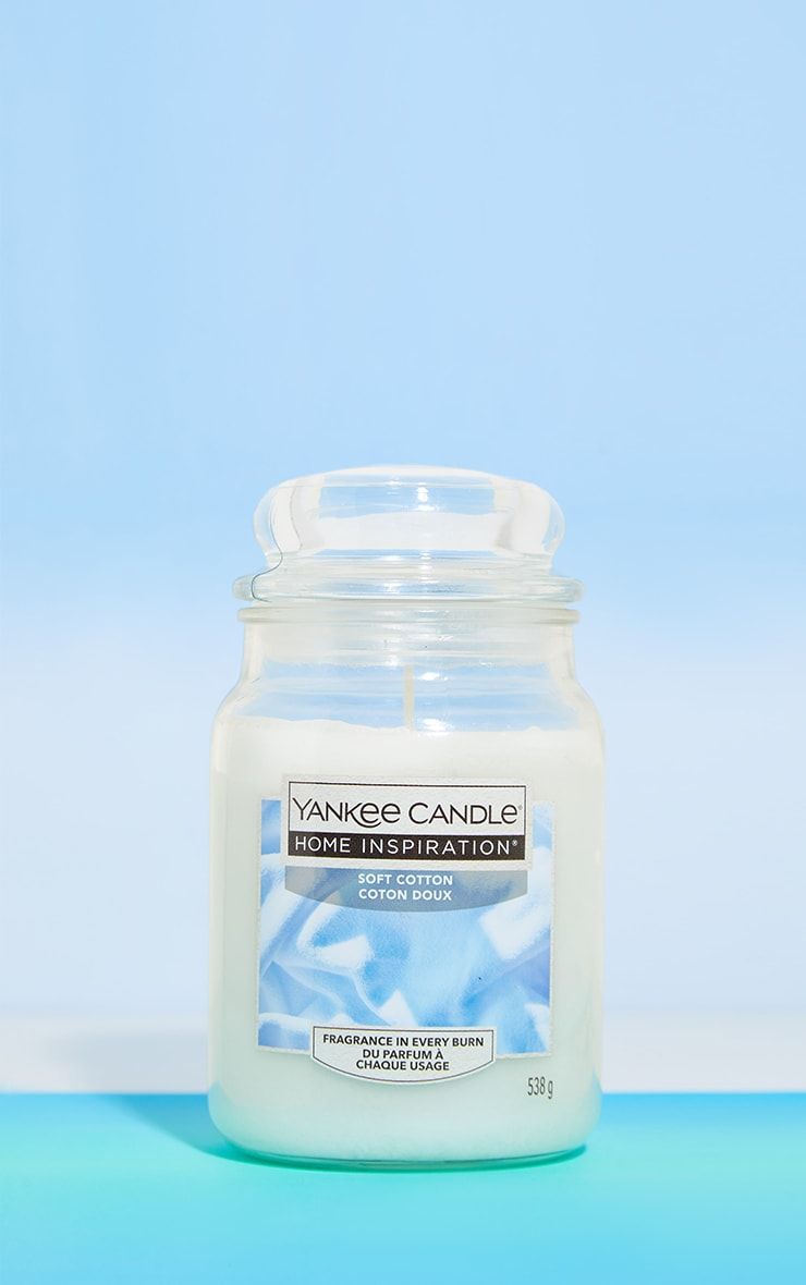 Yankee Candle Home Inspiration Large Jar Soft Cotton image 1
