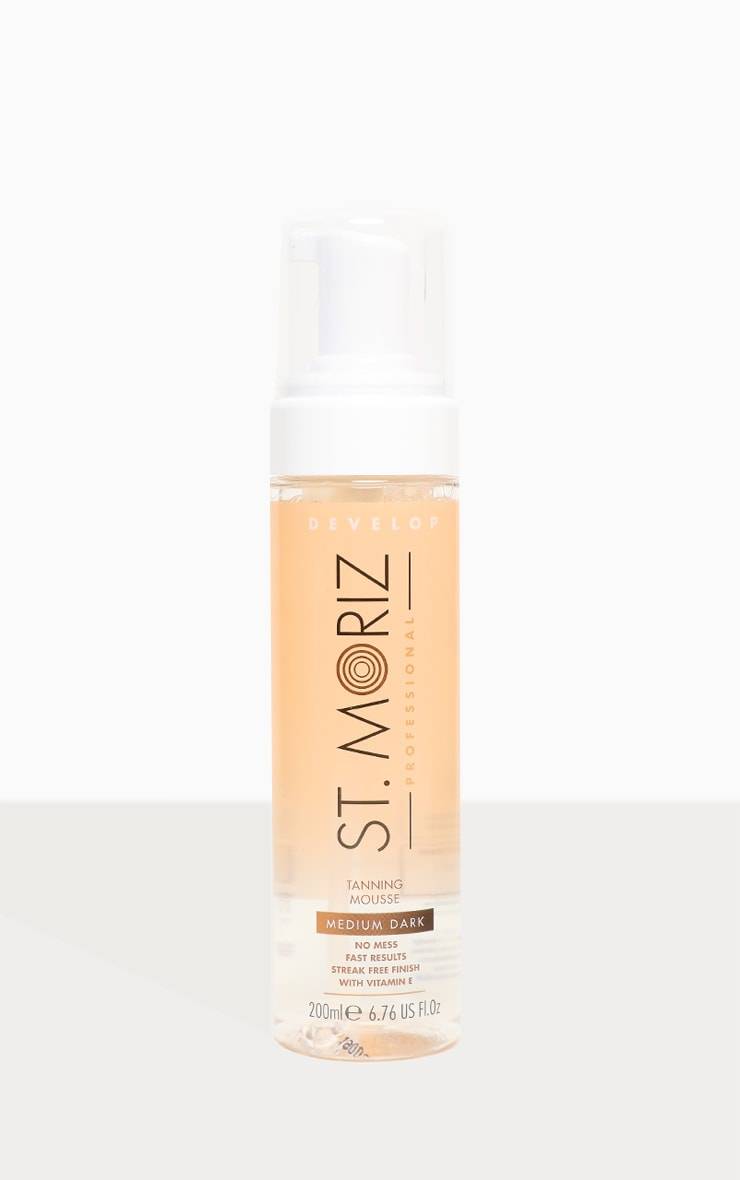 St. Moriz Professional Clear Tanning Mousse Medium Dark 2