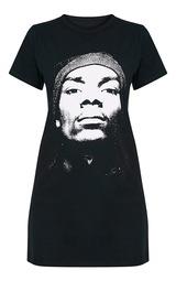 98b222723b5 Snoop Dogg Black T Shirt Dress image 3