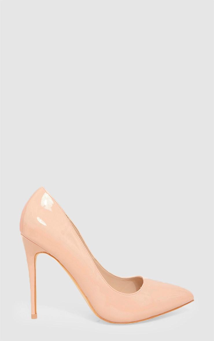 Nude Print Court Shoe 3