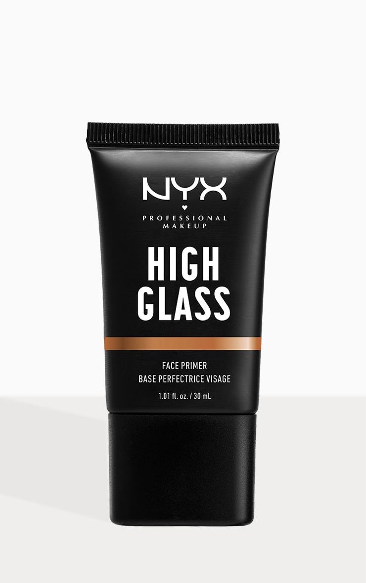 NYX PMU High Glass Face Primer Sandy Glow 1