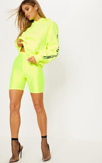 207ac6ca11a Yellow Neon bike Shorts
